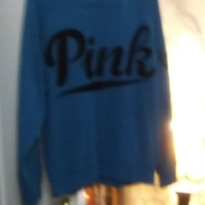 PINK Sweaters - Pink brand sweater with black writing